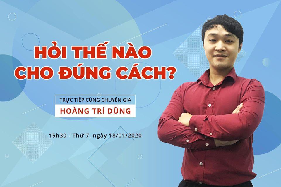 Leader team : Hoàng Trí Dũng